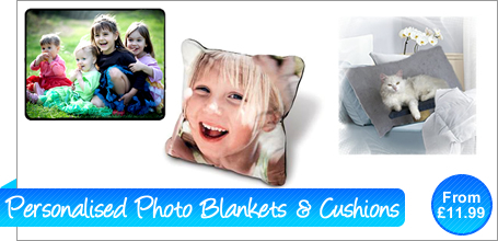 Personalised Blankets & Cushions
