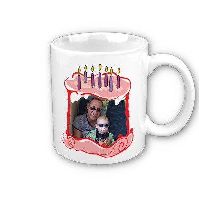 Our Price GBP699 Description Personalised Birthday Gift With Cake Photo Mugs