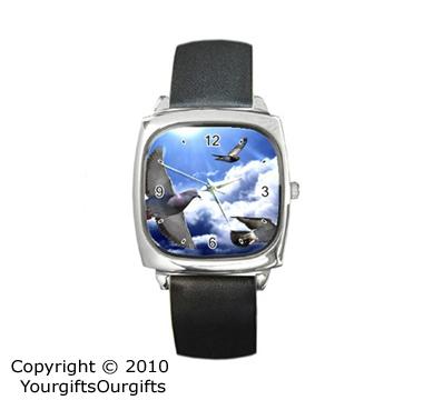 Racing Pigeon Watch, Racing Pigeon Themes Gifts For The Racing Pigeon Fancier, Pigeon Watch With Photos Of Racing Pigeons