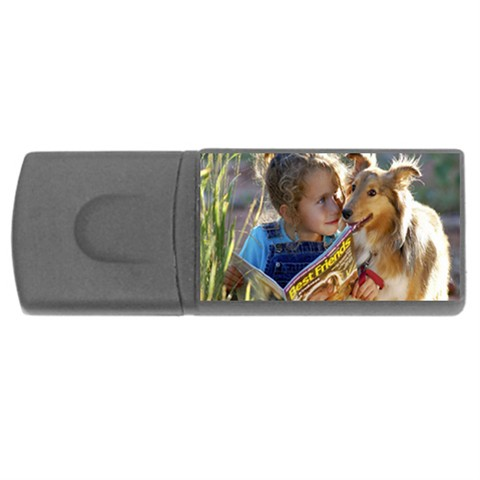 personalised usb flash drive rectangle